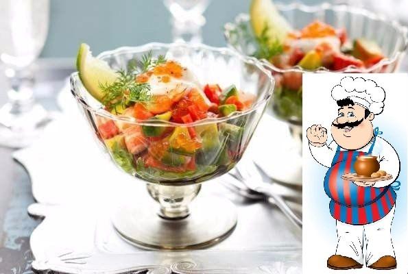 ТОП-3 лёгких салатов