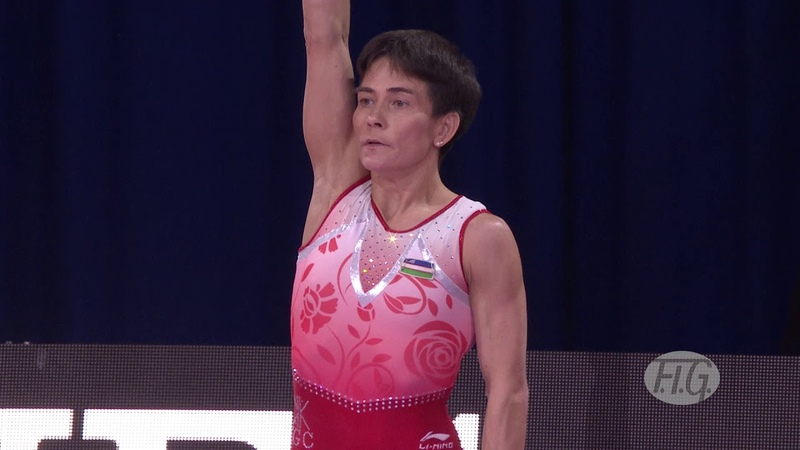 2019 Artistic Worlds, Stuttgart (GER) – Oksana CHUSOVITINA (UZB), Qualifications Vault