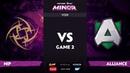 RU Ninjas in Pyjamas vs Alliance Game 2 StarLadder ImbaTV Dota 2 Minor S2 Grand Final