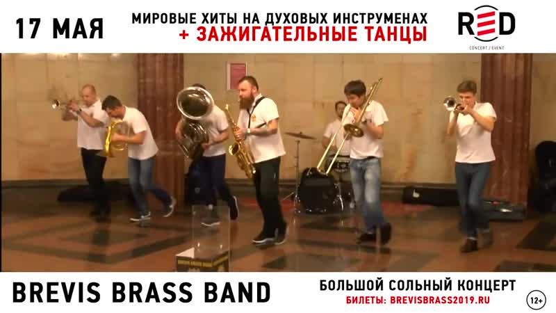 BREVIS BRASS BAND - 17 мая @ клуб RED (Москва)