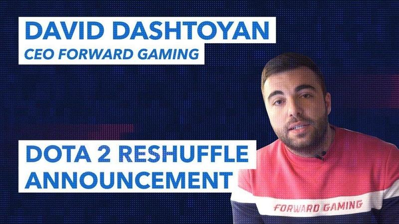 Forward Gamings Dota 2 Roster Changes