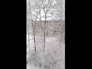 Березники - там уже зимняя сказка