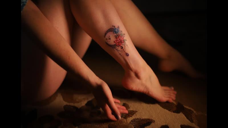 Видео зарисовка о тату, снятая прямо во время процесса