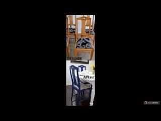 Реставрация старой мебели дома