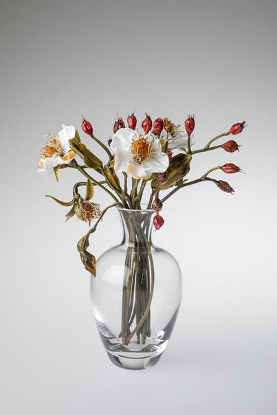 Интересно.Стеклянный сад. «Живые» цветы Лиллы Табассо