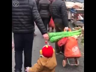 Папы с малышами