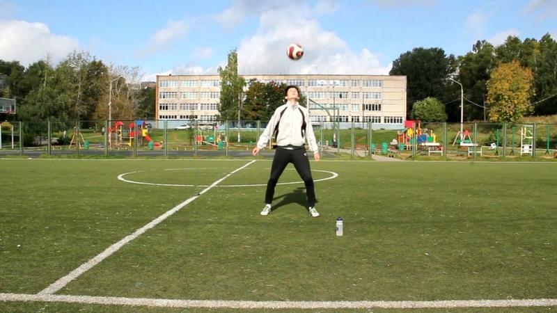 Так умеет любой уважающий себя футболист: Neckstall | Как поймать мяч на шею (спину)