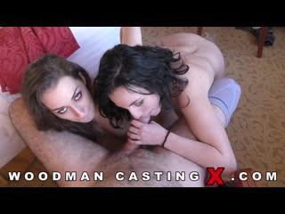 Mya Lorenn, Leyla Bentho - WoodmanCastingX, casting anal porno