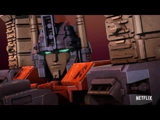 Transformers: War For Cybertron Trilogy: Siege - Трейлер