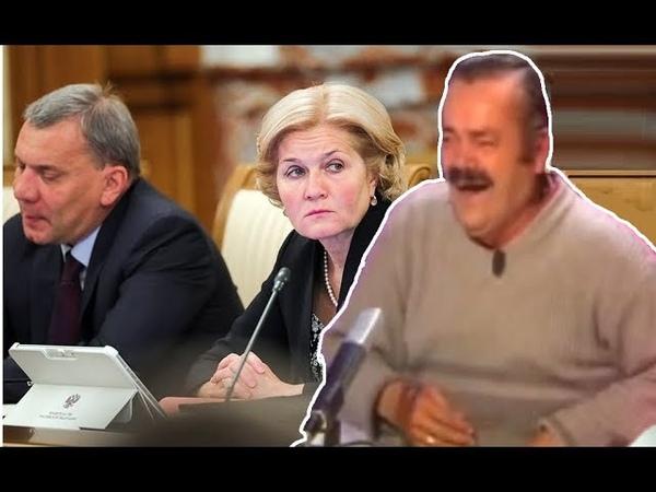 Испанец побывал на заседании правительства