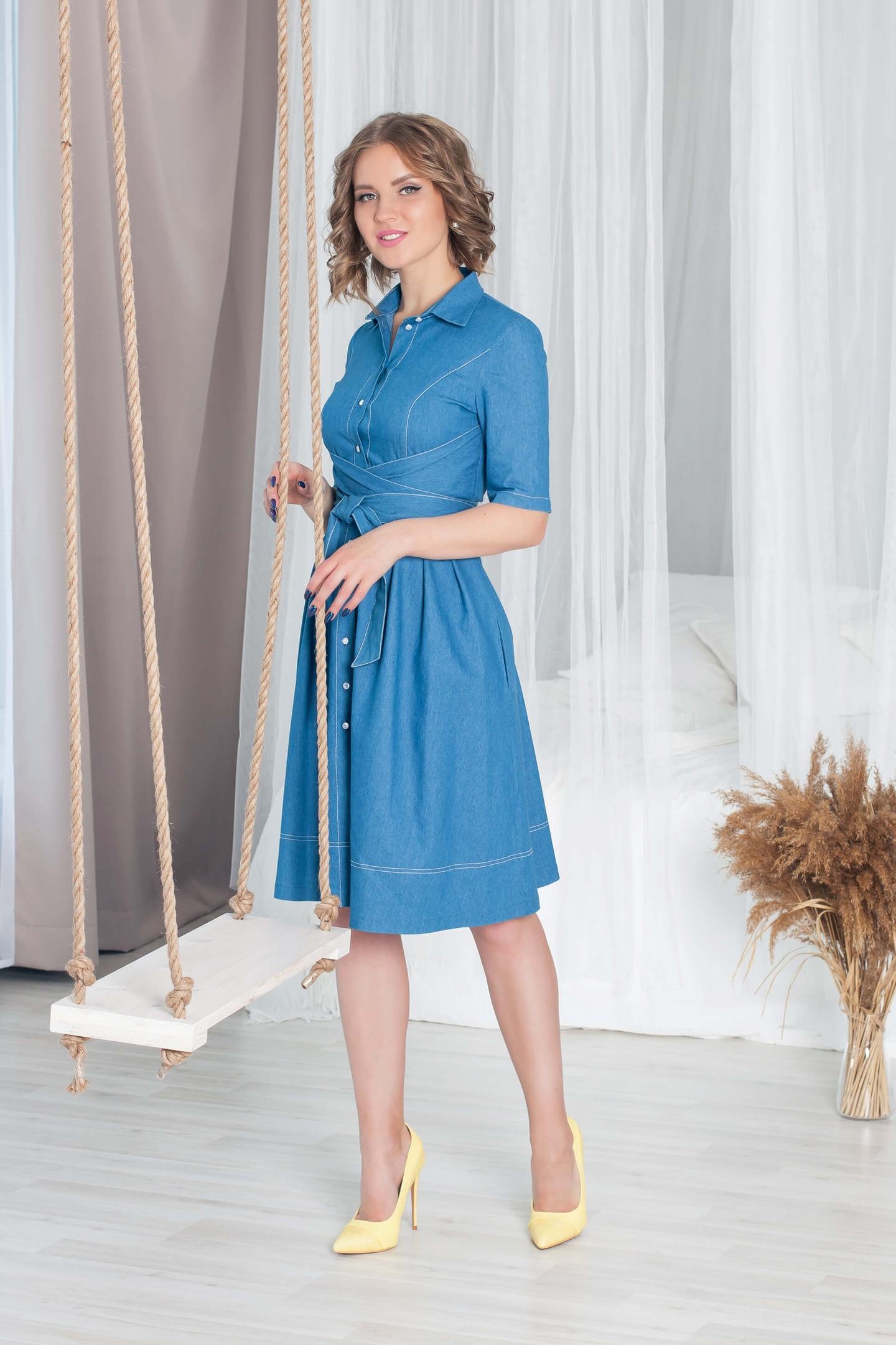 Джинсовое платье - в гардеробе просто незаменимое!