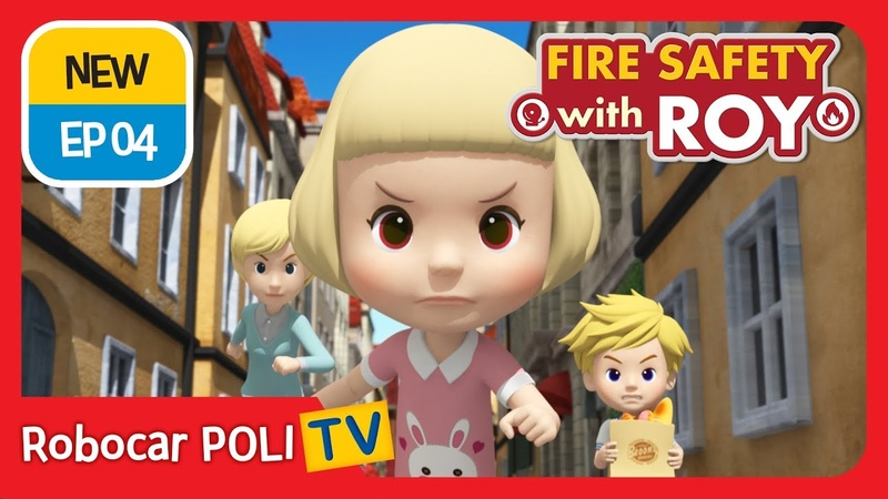 🔥Fire safety with Roy EP04 Never Forget to Turn Off the Gas Robocar POLI Kids animation