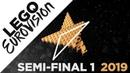 LEGO: Eurovision 2019 - Semi-Final 1
