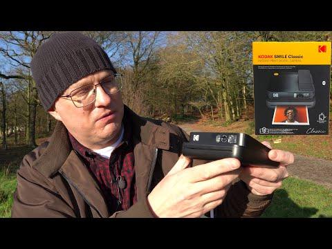 The Kodak Smile Classic instant camera