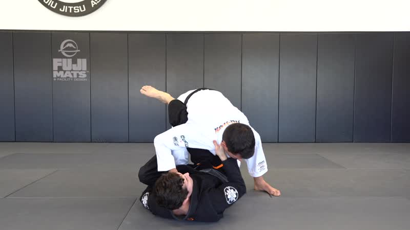 Caio Terra - LEG DRAG 3 (ELBOW OUTSIDE THE KNEE) RECOVER WITH PULL_PUSH CONCEPT