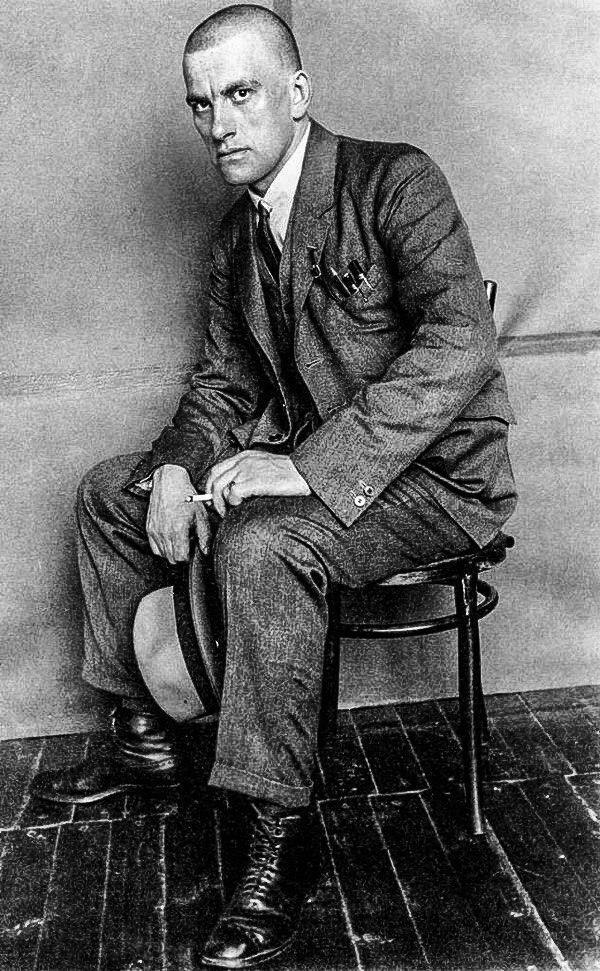 Влaдимир Мaяковский. ССCР, 1923 год.