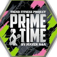 Логотип PrimeTime Фитнес проект Севастополь