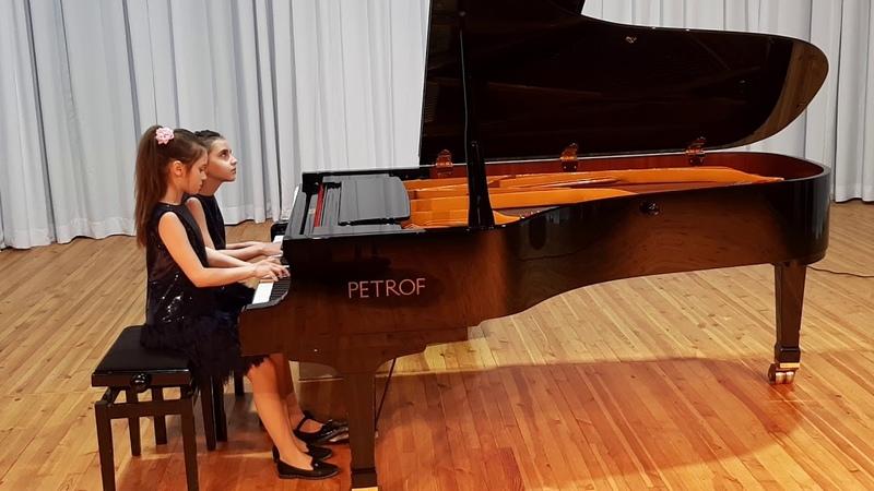 Фортепианный ансамбль Лашук Мария Жданович Ефросиния категория В