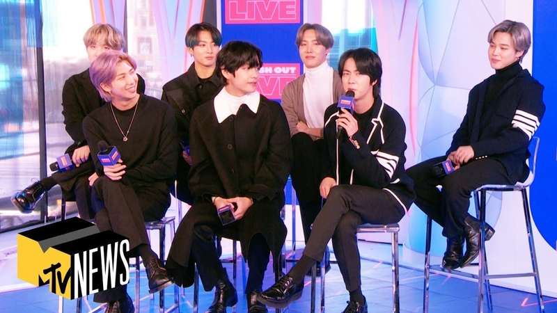 BTS Deliver Heartfelt Messages To Their Future Selves For 'Map Of The Soul 7' MTV News
