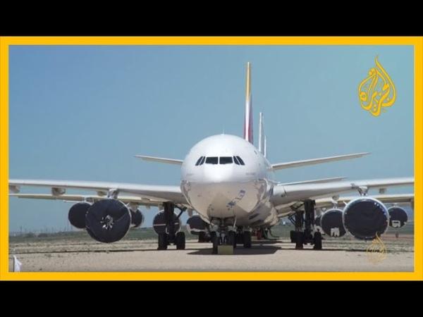 خسائر فادحة لشركات الطيران جراء كورونا