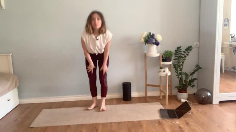 Live: йога c Ксенией Поповой