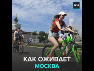 Как Москва выходит из ограничений  Москва 24