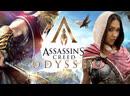 Гоняем лыс ой Лёху =D DLC The Fate of Atlantis Assassin's Creed Odyssey