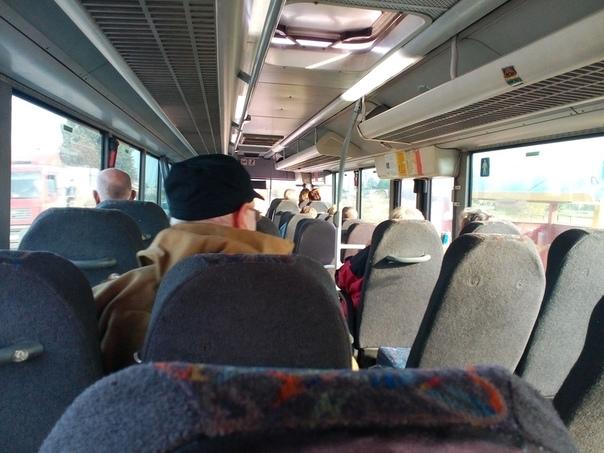 Ехала вчера автобусом