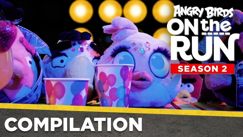 Angry Birds On The Run S2 Compilation Love Nest Ep 1 4