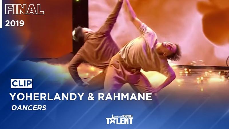YOHERLANDY RAHMANE performing live on France's got talent