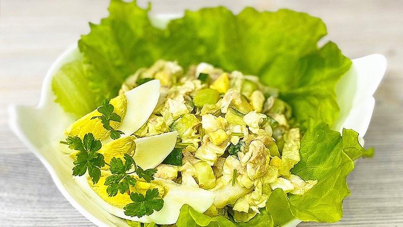 Салат Похудей ка Часто готовлю его на ужин когда на диете