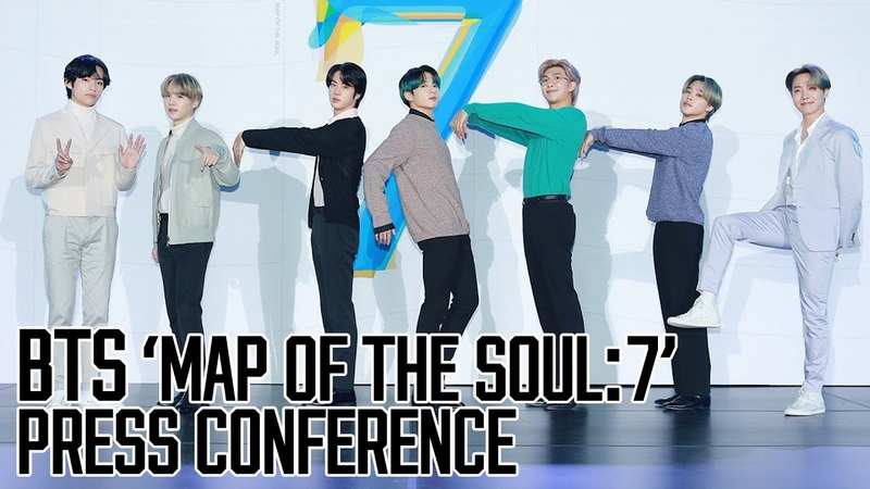 ENG 방탄소년단 BTS 기자질문시간 PRESS Q A Full ver. MAP OF THE SOUL : 7 PRESS Conference Pt.2