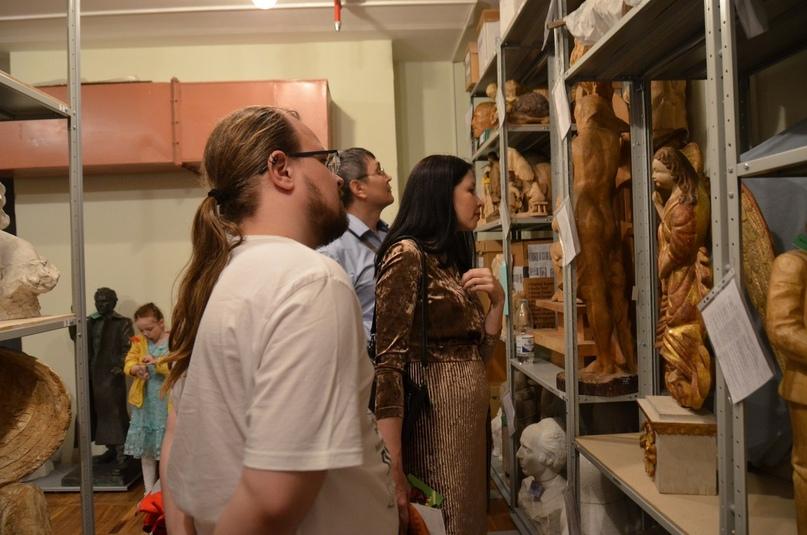 Экскурсия по музейным закоулкам. Фото А. Мартыновой.