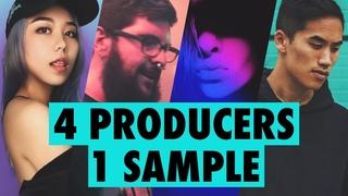 4 PRODUCERS FLIP THE SAME SAMPLE ft. Dyalla, Mr. Bill, JVNA