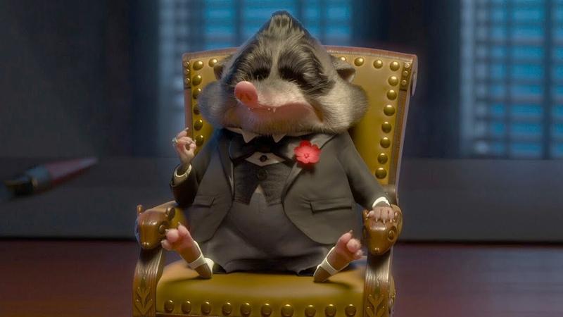 Мистер BIG Зверополис отрывок из фильма крёстный отец