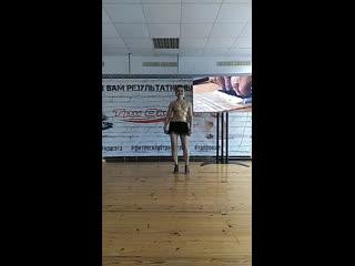 Бальные танцы - Агаркова Анна
