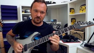 Fredguitarist учит соло из Megadeth - Tornado of souls