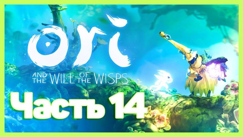 Ori and the Will of the Wisps 14 Прохождение Изучаем разные локации мира Ori