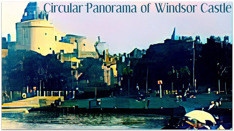 Circular Panorama of Windsor Castle RossovRemastered
