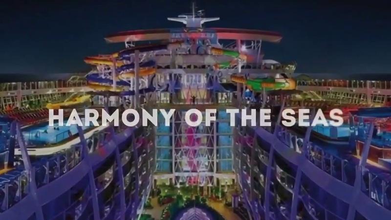 Круизное путешествие на шикарном лайнере Гармония Морей Harmony of the SEAS Позволь себе лучшее