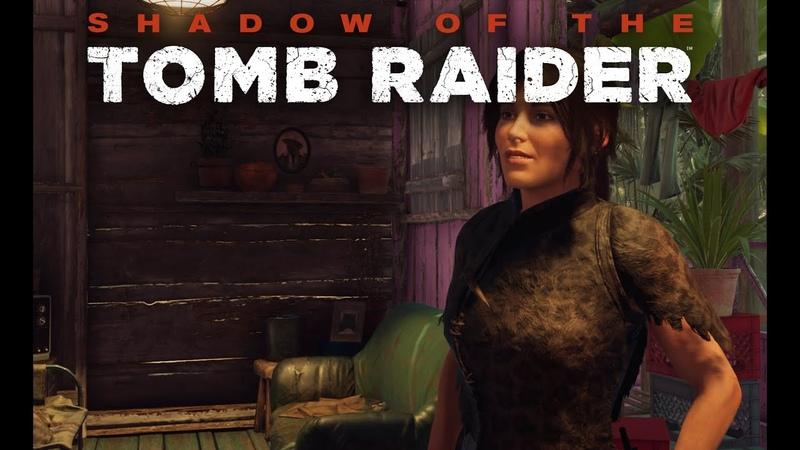 Shadow of the Tomb Raider первое прохождение и сразу сложный уровень на ПК в 4к часть 16
