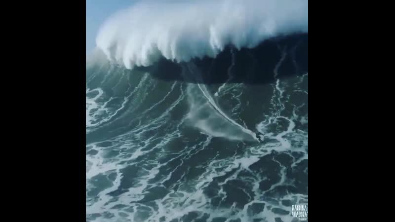 покоряет одну из самых больших волн на Земле