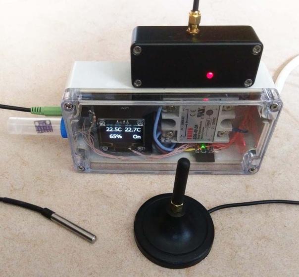Опыт применения GSM-модуля в домашней автоматизации.  На даче холодно,...