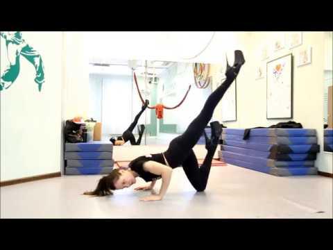 Партерная акробатика Выход в Скорпион