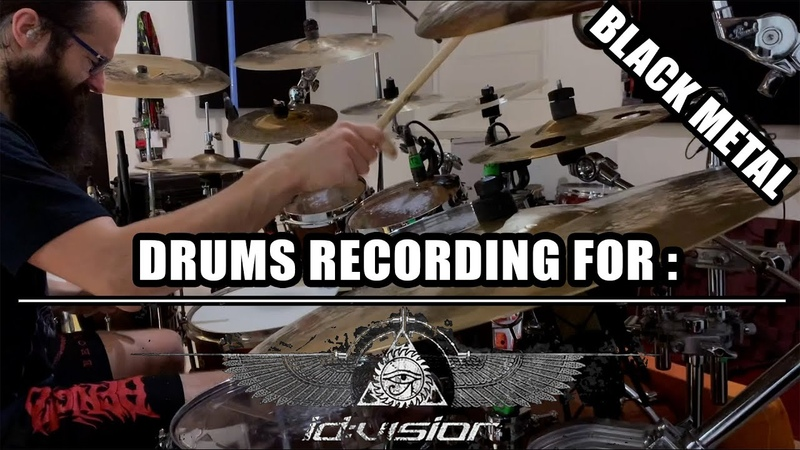 Drums Recording for ID VISION Black Post Black Metal