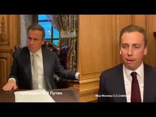 Галкин. Диалог Путина и Собянина о режиме тюремных прогулок.