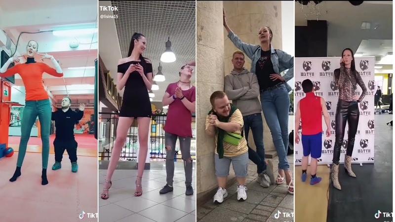 New TikTok😓viral videos Amazing tallest girl😨😨Coolest TikTok videos Osaam TikTok videos