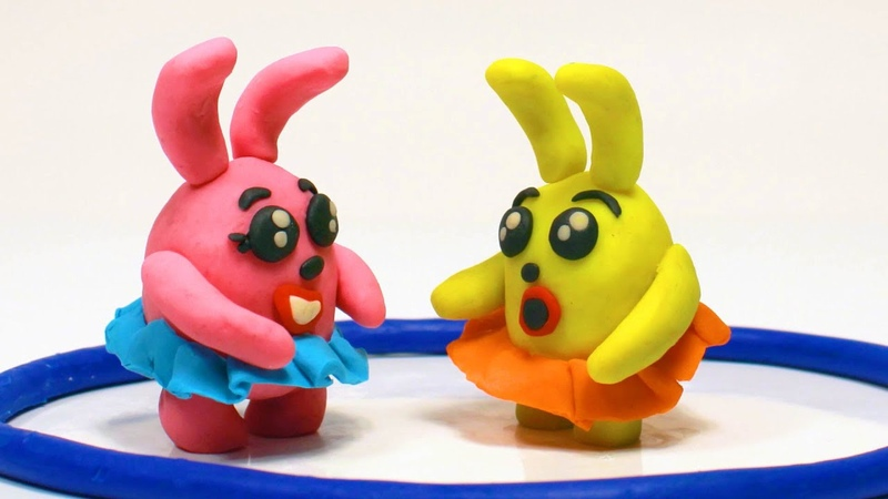 Funny Cartoons For Kids 💕 Funny Hares are Dancing 💕 मज़ेदार हूरें नाच रही हैं
