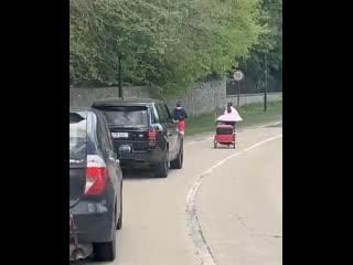 Конор бегает в Ирландии