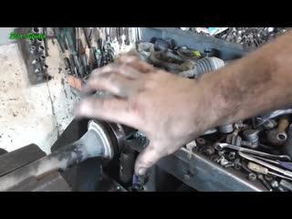 Замена подвесного подшипника Chevrolet Epica